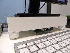 LACK Monitor Stand with USB hub - IKEA Hackers - IKEA Hackers
