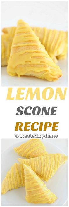 Wonderful flavor of lemon in these light and flaky scones will have you baking batch after batch, trust me!