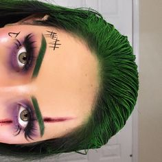 Joker Halloween Makeup, Joker Makeup, Amazing Halloween Makeup, Pretty Halloween, Halloween Eyes, Clown Makeup, Costume Makeup, Costume Clown, Halloween Costumes