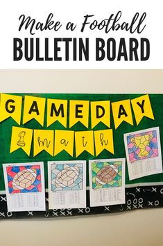 Ready for the BIG GAME? Get ready with this FUN bulletin board. Your students will create footballs and trophies to celebrate for the BIG football game. Engage your students in Super Bowl fun this year! Download your math printables and have fun practicing integers today!
