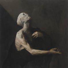"""Nicola Samori, """"L'Occhio Occidentale,"""" 2013. Oil on copper."""