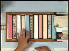 ▶ Cascade Parade and Retrospection 365 Scrapbooks - YouTube - Kathy Orta Files