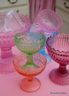 ice cream bowls..