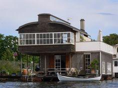 copenhagen houseboat
