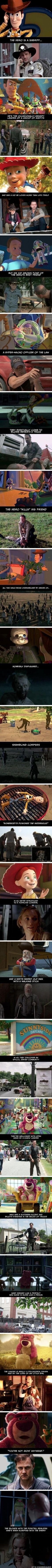 Silly Likes - The Walking Dead and Toy Story