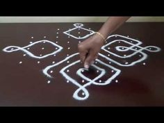11 DOTS KOLAM || KAMBI / SIKKU KOLAM || MELIKALA MUGGULU || INTERLACED DOTS || HOW TO DRAW || - YouTube