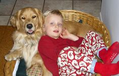Autism Assistance Dog - Special Needs Dogs to provide a loving constant contact for babies who have trouble relating to others; warns parents when baby is going to fall, is having medication reactions, etc.