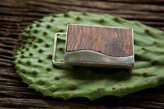 Bocote Wood inlaid in ALpaca Silver  michelletilley.com