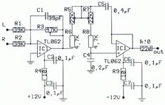 Car Audio Crossover Wiring Diagram Jaguar S Type Radio Subwoofer Circuit Pdf 12v Pre Amp Filter With Tone Enhancing And Include Pcb Layout Design
