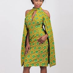 New in the marketplace: The Lisha Dress by Woen Ilga • available in multiple fabrics at zuvaa.com