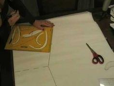 Fare cartamodello per maglietta kimono:corso taglio e cucito Sitam