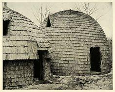 1893 Print Huts African Wilds Chicago Worlds Fair Tribe Original Historic Image | eBay