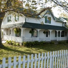 Green Gables. It is the most beautiful home in the world. i'd love a house like this!!
