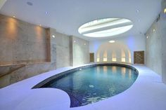 indoor pool #curved
