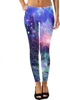 Star Night City Leggings