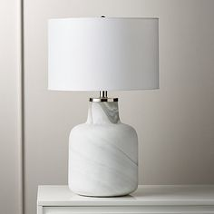 """Large Marblized Grey Table Lamp [""""Glass table lamp base is handpainted with white swirls to create stunning marble effect. Due to the painting process, color/veining will vary from lamp to lamp and no two will be the same. Grey Table Lamps, Table Lamp Base, Lamp Bases, Glass Floor Lamp, Bronze Floor Lamp, Floor Lamps, Contemporary Table Lamps, Modern Table, Brass Pendant Light"""
