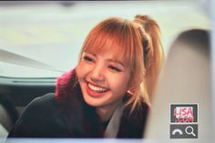 Lisa!! MY BIAS She is so adorable I LOVE HER that smile that ponytail omfg Lisa don't ever stop whatever your doing your perfect the way you are !