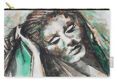Adele in watercolor