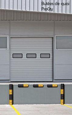 Butée de quai en caoutchouc, L 50 , H 10 cm, Design ProCity