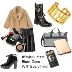 Check out my moodboard of Regina's Picks for October! #StyleHunters #BlackGoesWithEverything