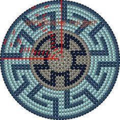 See related image detail Tapestry Crochet Patterns, Crochet Dolls Free Patterns, Crochet Stitches Patterns, Beading Patterns, Mochila Crochet, C2c Crochet, Russian Cross Stitch, Tapestry Bag, Native Beadwork