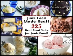 Junk Food Made Real: 225 Real Food Recipes to Replace Your Favorite Junk Foods // deliciousobsessions.com