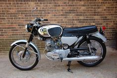 I learned to ride a motorcycle on my dads CB 160 Dream!  -  1964 Honda CB160 SuperHawk by SimbaYancy, via Flickr