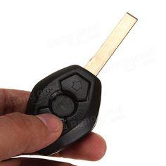 [US$2.99] 3 Button Car Key Shell Case for BMW E39 E53 E60 E63 with Blade #button #shell #case #blade