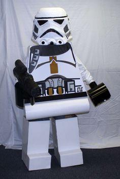 Star Wars Lego costume DIY