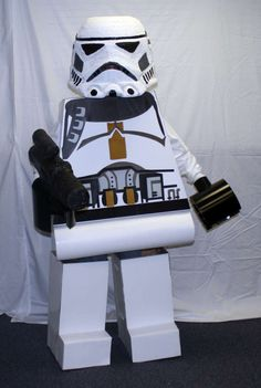 Star Wars Lego costume DIY