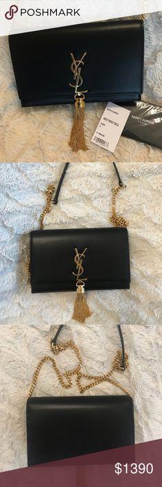 ab5033c0cebaed Saint Laurent Kate YSL Tassel Chain Wallet Saint Laurent Kate YSL Tassel  Chain Wallet Removable leather