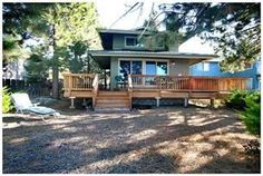 """South Lake Tahoe, CA: """"Lagoon Cabin"""" is located inside the Tahoe Keys which is located on the south shore of Lake Tahoe approximately 5 miles south of the casinos on the st..."""