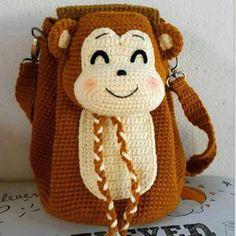Fashion (Cr) - Balo con khỉ cute