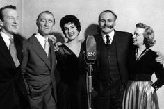 """TAKE IT FROM HERE. 3 During the break, Denis and Frank found another cast member, Wallas Eaton, to be the """"odd-voice character"""". The format was changed in the second season to include a brief opening which included topical banter, a song from Johnny Johnson's harmony group, The Keynotes - originally named The Harmony Heralds. The next spot was a gimmick sketch, such as the operatic weather forecast"""