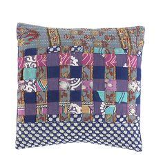 Serrv Cool Tones Recycled Sari Cotton Placemats Set of 2