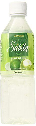 Sabila Aloe Drink, Coconut, 16.9 Ounce (Pack of 20) ** Read more reviews of the product by visiting the link on the image.