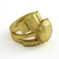 Digital Ring Gold  By Meg Drinkwater and Erin Gardner @ Touch of Modern // more brilliant, original stuff from Drinkwater and Gardner. These two are smart.