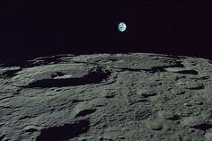 La Terre vue de la Lune (mission japonaise Selene, 2007-2009)