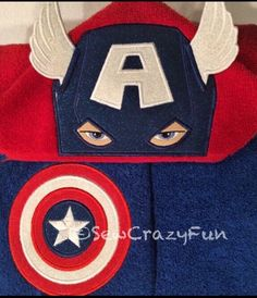 A personal favorite from my Etsy shop https://www.etsy.com/listing/270108013/captain-america-inspired-hooded