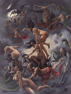 Purgatory by David A Magitis....love this image