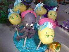 The Little Mermaid Birthday Party Ideas Little Mermaid Decorations, Little Mermaid Cakes, Little Mermaid Birthday, Little Mermaid Parties, The Little Mermaid, Girl Birthday, Kids Party Themes, Party Ideas, 4th Birthday Parties