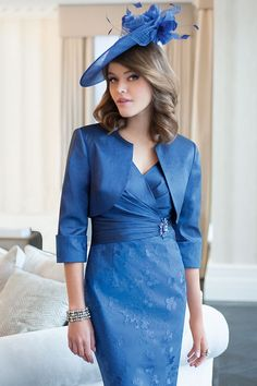 Ispirato short dress with matching jacket - 057 - Catherines of Partick