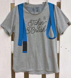 ISSO 'Takin a Break' BLUE BELT T-Shirt