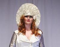 #SweetLeigh #Millinery Headpiece for Cult of Cali Fashion  Show  Image: California Apparel News