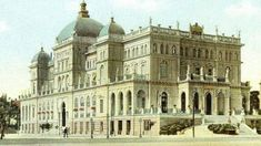 The AKTAION Palace Hotel once crowned southern Athens Greece. It was built in 1903 but demolished in Athens History, Greek History, Athens City, Athens Greece, Bauhaus, Old Photos, Vintage Photos, Private Hospitals, History Of Photography