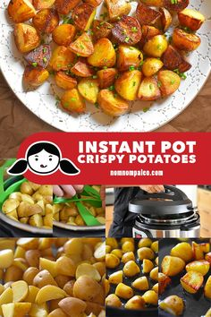 Let me show you how to use an Instant Pot or pressure cooker to make spuds with crispy exteriors and fluffy interiors in no time flat. #instantpot #paleo #whole30 #nomnompaleo #glutenfree