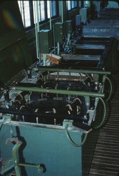 electroplating tanks (Roger Johnson)