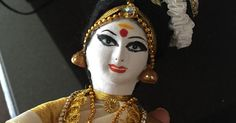 Sam's heaping cup of crafts: Doll making...Dance dolls of India (Mohiniyattam)