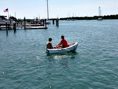 Two men and a boat. (Photo by Betsy Cartier) North Carolina Coast, Nc Beaches, Travel Magazines, Two Men, Small Towns, Cartier, Old Things, Boat, America