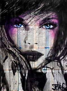 "Saatchi Art Artist Loui Jover; Drawing, ""evermore"" #art"